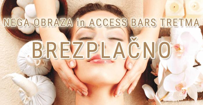 Nega obraza in Access Bars tretma BREZPLAČNO!